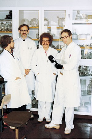 Klaus Bøgesø and the team behind the development of Escitalopram