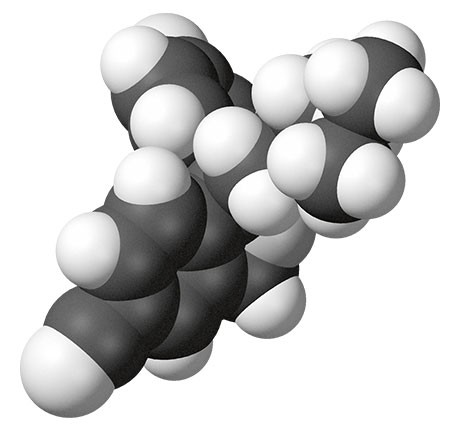 The molecule Escitalopram