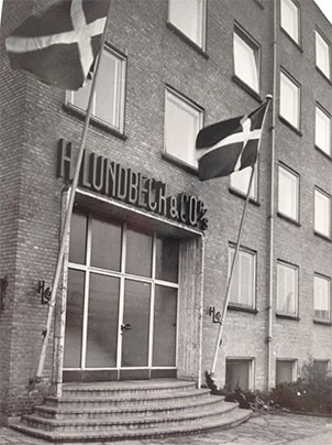 Valby site - main entrance before 1964